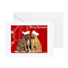 Christmas Pits Greeting Card
