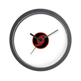Cute Cat division Wall Clock