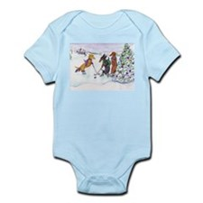 Hockey Dachsies Infant Bodysuit