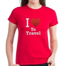 I Love To Travel Tee