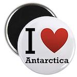 I Love Antarctica Magnet