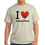 I Love Antarctica Light T-Shirt