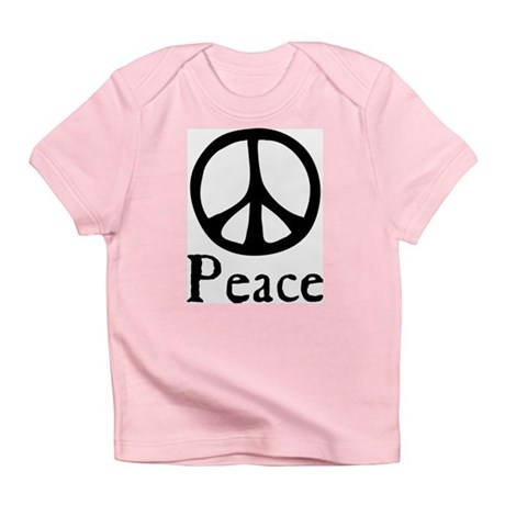 Flowing 'Peace' Sign Infant T-Shirt
