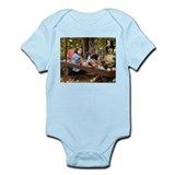A Mad Tea Party (crop) Infant Bodysuit