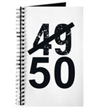 Great 50th Birthday Journal