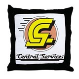 Central Services Throw Pillow