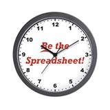 Be the Spreadsheet Wall Clock