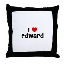 I * Edward Throw Pillow