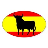 Toro osborne Spain pegatina sticker