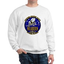 US Navy Seabees We Build, We Fight Sweatshirt