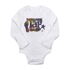 Cute Tap dance Long Sleeve Infant Bodysuit