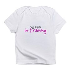 Big Sister in Training Creeper Infant T-Shirt