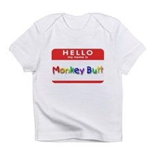 Monkey Butt Creeper Infant T-Shirt
