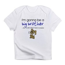Gonna be big brother (puppy) Infant T-Shirt