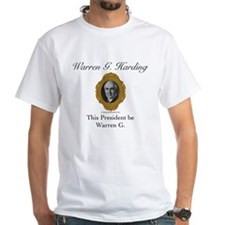 Warren G. Harding Shirt