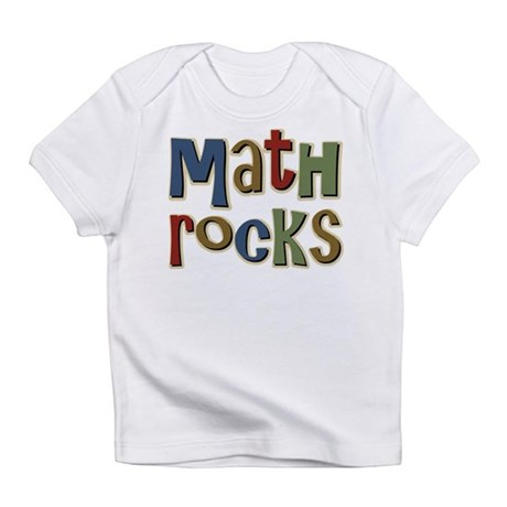Math Rocks Arithmetic Geek Infant T-Shirt