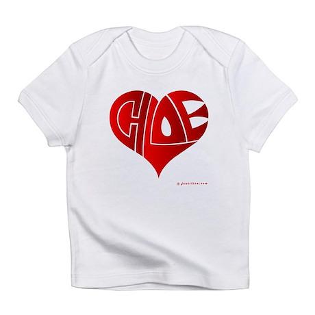 Chloe (Red Heart) Infant T-Shirt