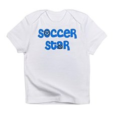 Blue Soccer Infant T-Shirt