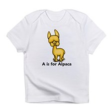 A is for Alpaca Infant T-Shirt