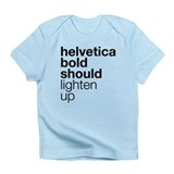 Lighten Up (Black) Infant T-Shirt