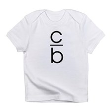 """C Over B"" Infant T-Shirt"