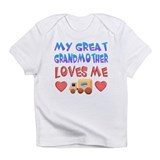"Baby-Boy ""Great Grandmother"" Infant T-Shirt"