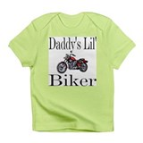 Daddy's lil' Biker Creeper Infant T-Shirt