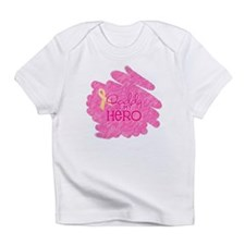Daddy is my Hero *pink Infant T-Shirt