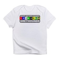 Adopt Greyhounds Infant T-Shirt