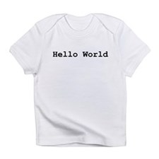 Hello World Creeper Infant T-Shirt