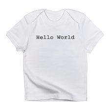 Hello World Creeper Infant T-Shirt