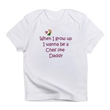 I Wanna Be A Chef Infant T-Shirt