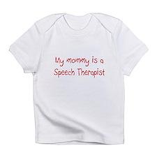 Speech Therapist Infant T-Shirt