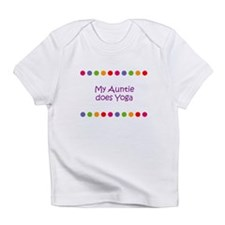 My Auntie does Yoga Infant T-Shirt