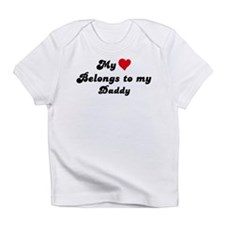 My Heart: Daddy Infant T-Shirt