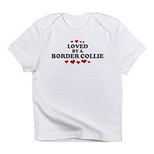 Loved: Border Collie Infant T-Shirt
