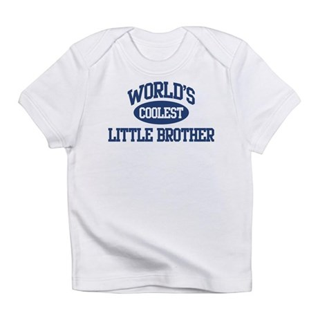World's Coolest Little Brothe Infant T-Shirt