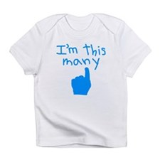 I'm This Many 1 Infant T-Shirt