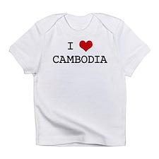 I Heart CAMBODIA Infant T-Shirt