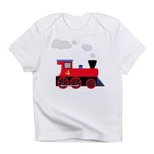 Red Train number 4 Infant T-Shirt