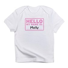 Hello My Name Is: Molly - Infant T-Shirt