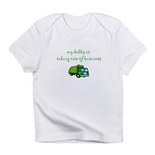 Taking Care of Business creeper Infant T-Shirt
