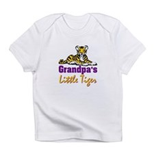 Grandpa's Little Tiger Infant T-Shirt