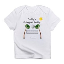 Daddy's Volleyball Buddy Infant T-Shirt