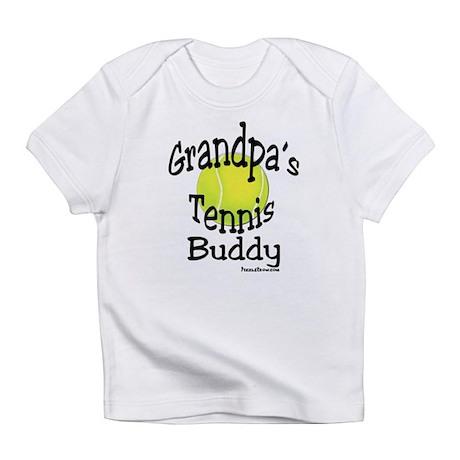 TENNIS GRANDPA'S BUDDY Infant T-Shirt