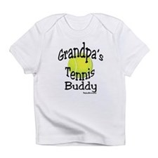 TENNIS GRANDPA'S BUDDY Infant T-Shirt