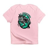 Chupacabra with Background 6 Infant T-Shirt