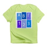 GREEK ABC/123 Infant T-Shirt