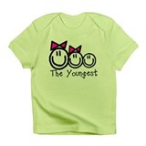 The Youngest of Three (Girl, Infant T-Shirt