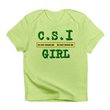 C.S.I Girl Do Not Cross Me Infant T-Shirt